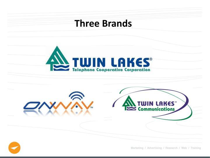 Three Brands