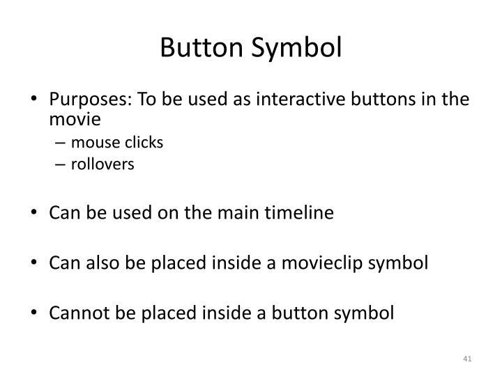 Button Symbol