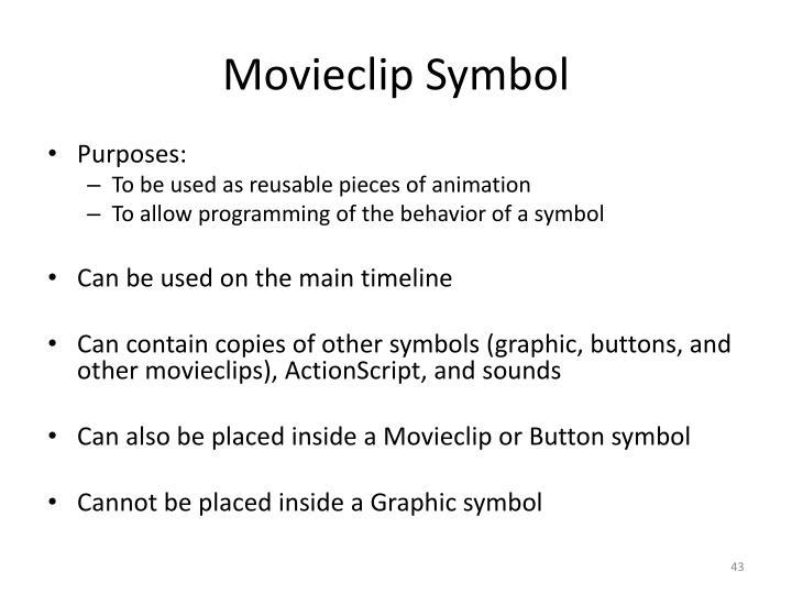 Movieclip Symbol