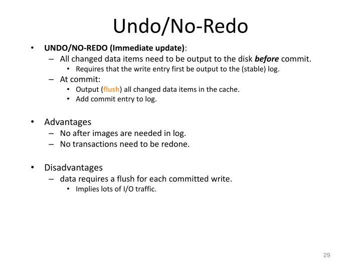 Undo/No-Redo