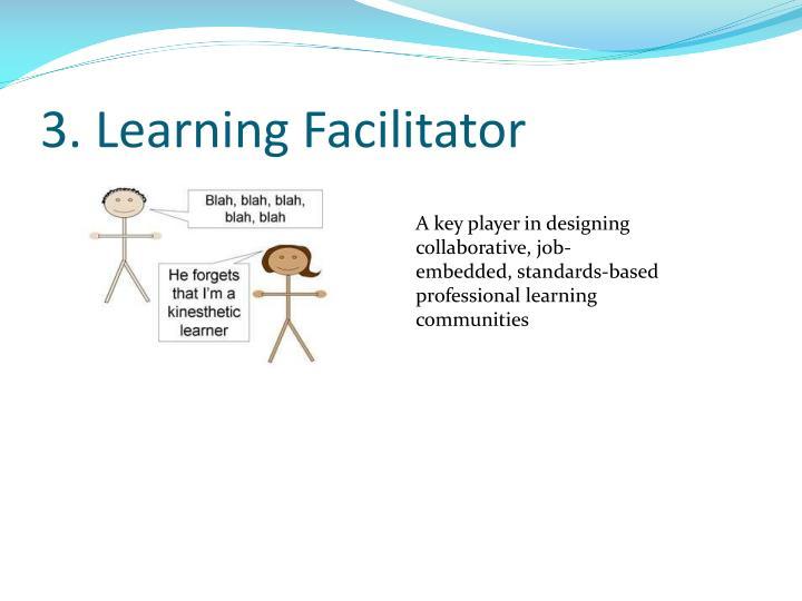 3. Learning Facilitator