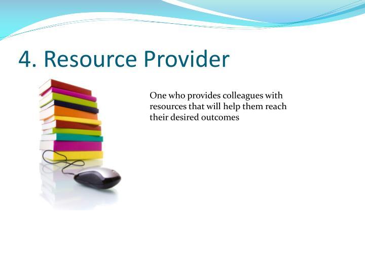 4. Resource Provider