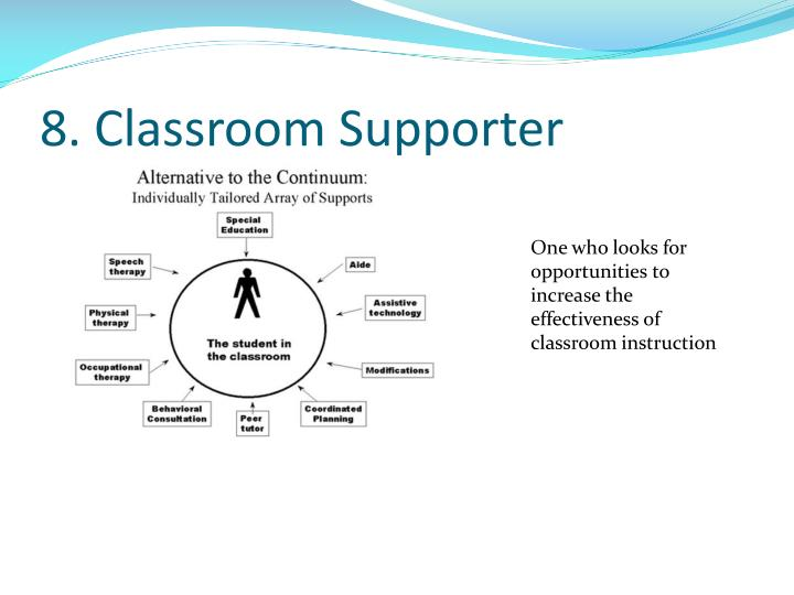 8. Classroom Supporter