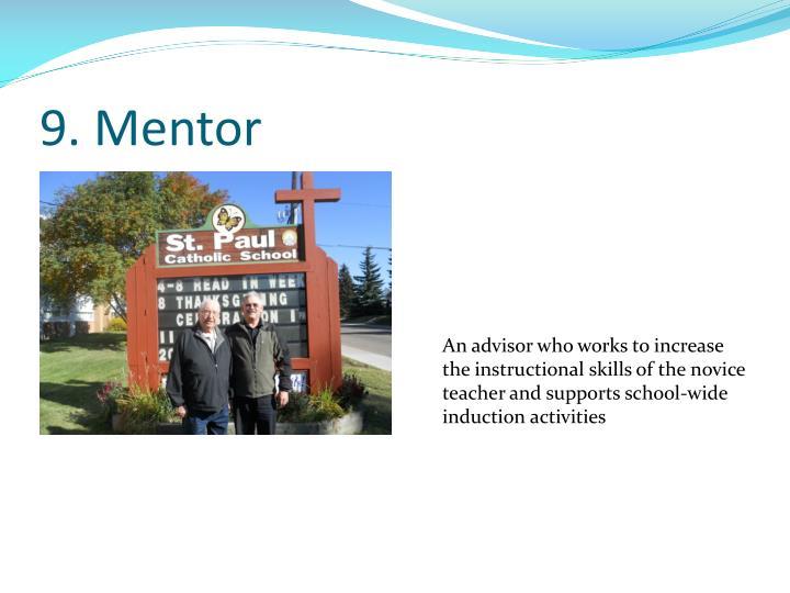9. Mentor