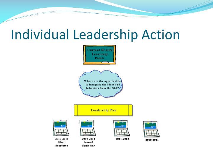 Individual Leadership Action
