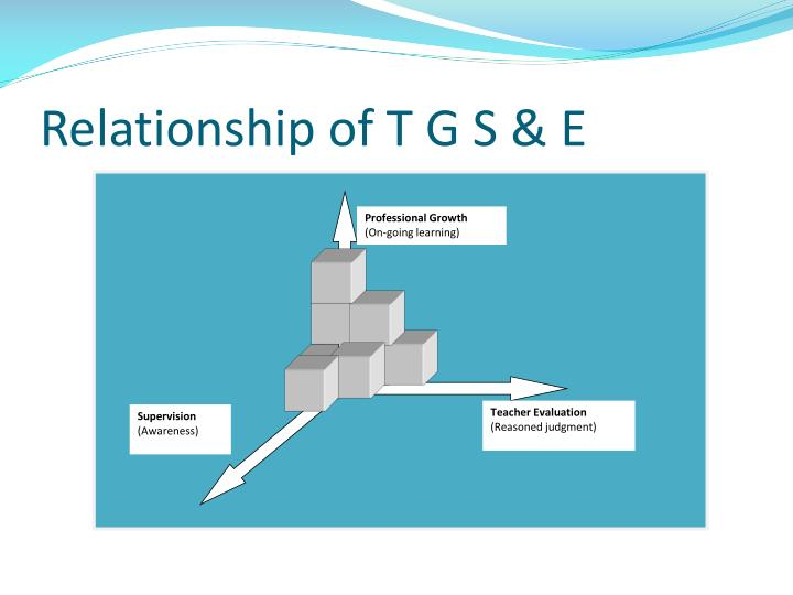 Relationship of T G S & E