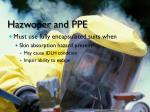 hazwoper and ppe2