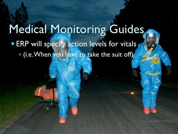Medical Monitoring Guides