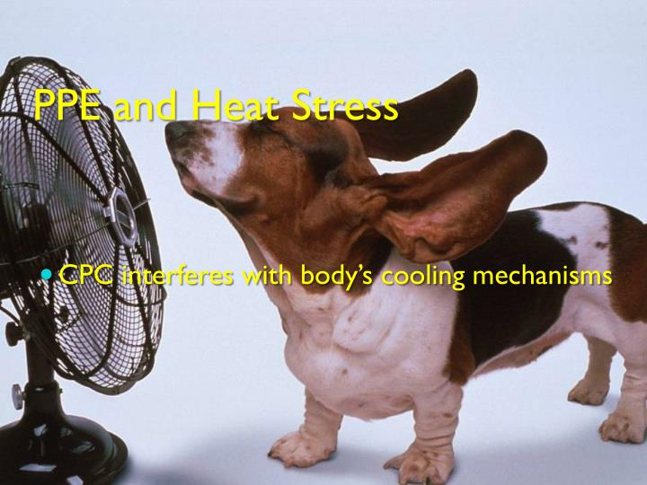 PPE and Heat Stress