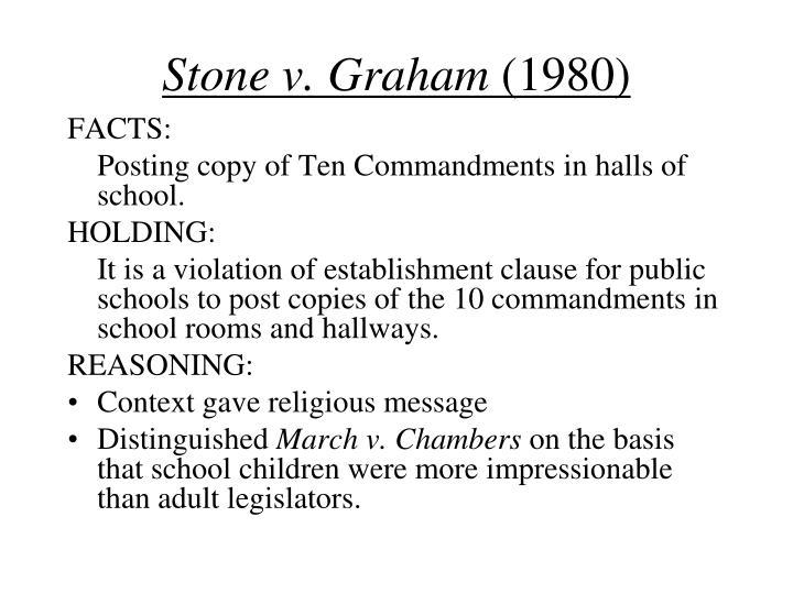 Stone v. Graham
