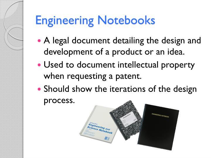 Engineering Notebooks