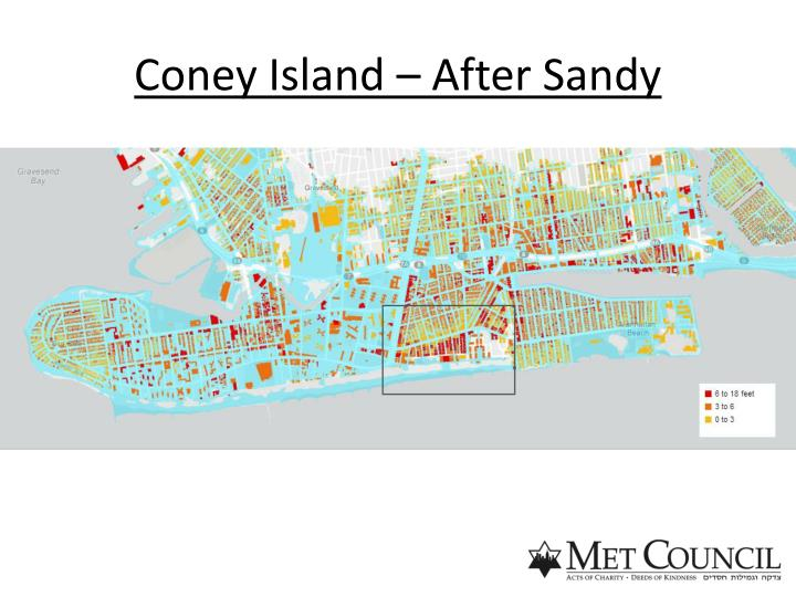 Coney Island – After Sandy