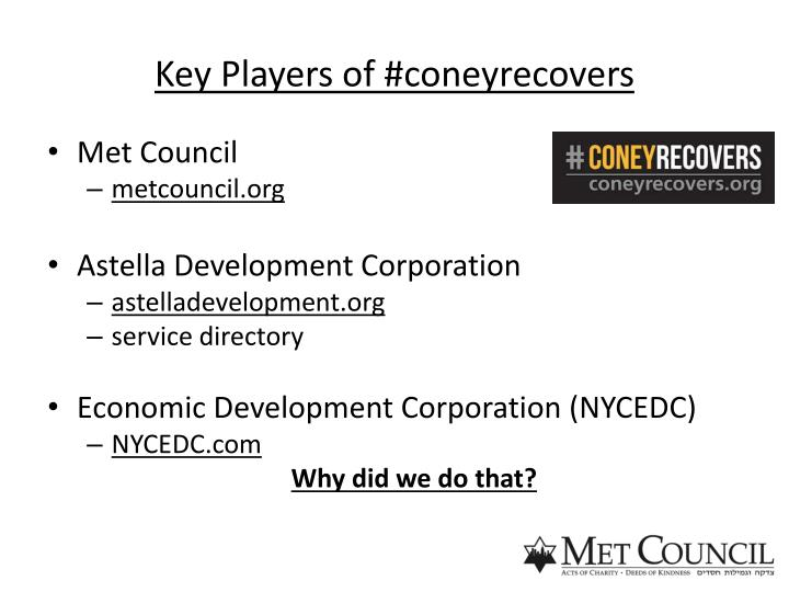 Key Players of #