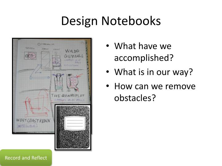 Design Notebooks