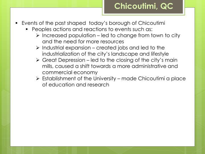Chicoutimi, QC
