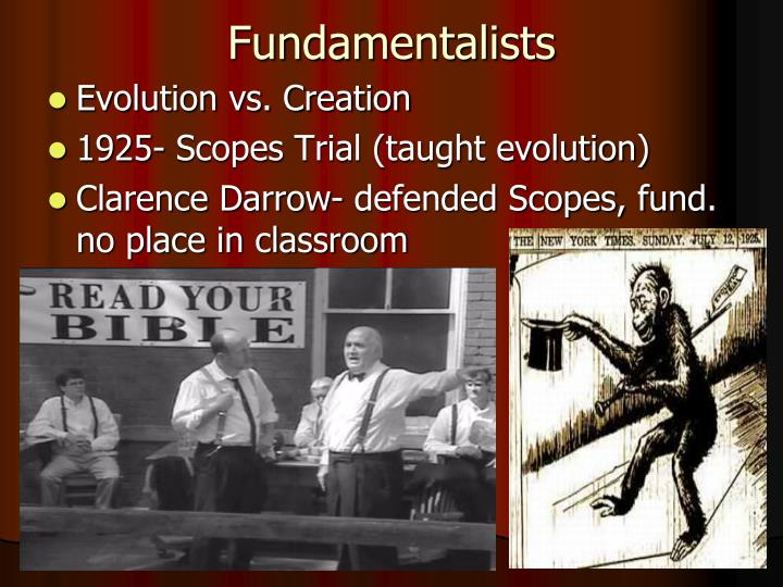 Fundamentalists