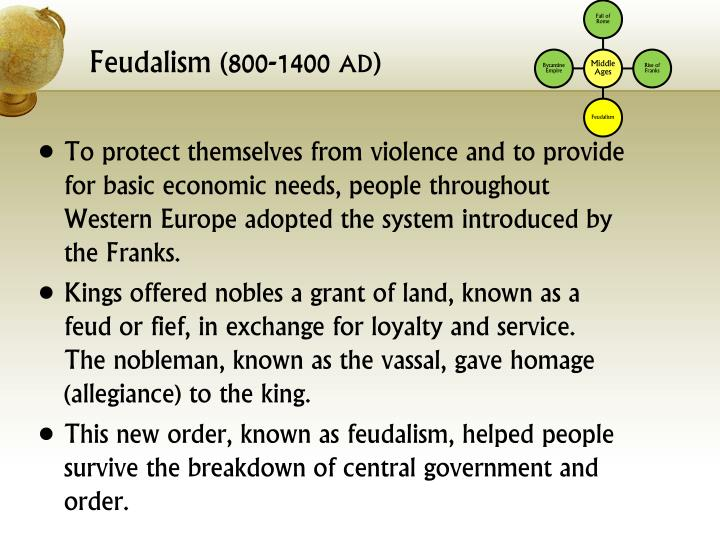 Feudalism (800-1400