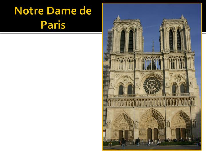 Notre Dame de