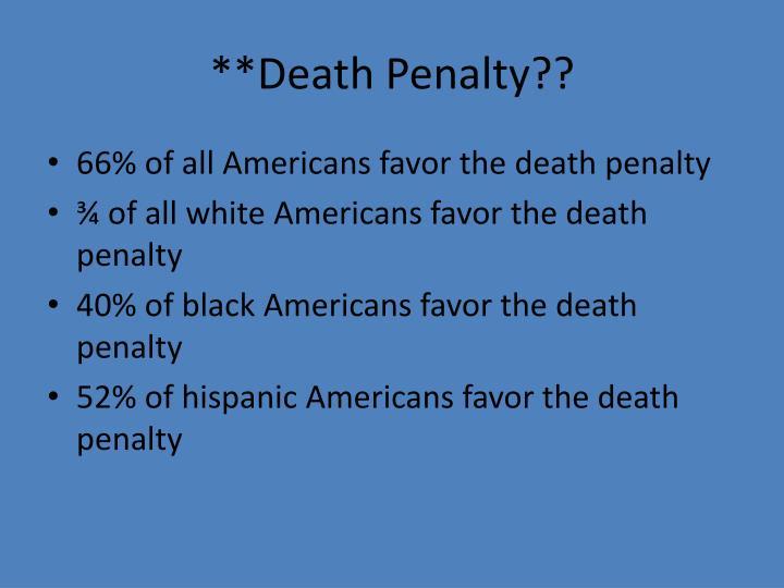 **Death Penalty??