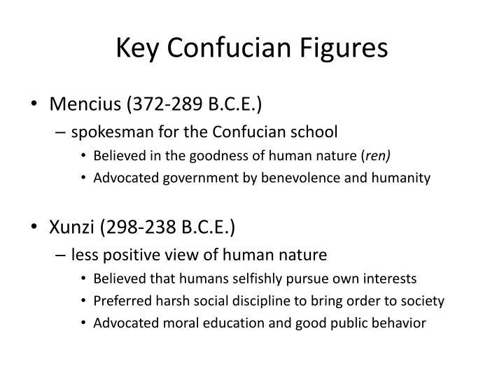 Key Confucian Figures