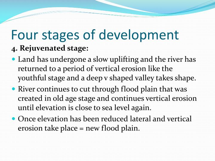 Four stages of development