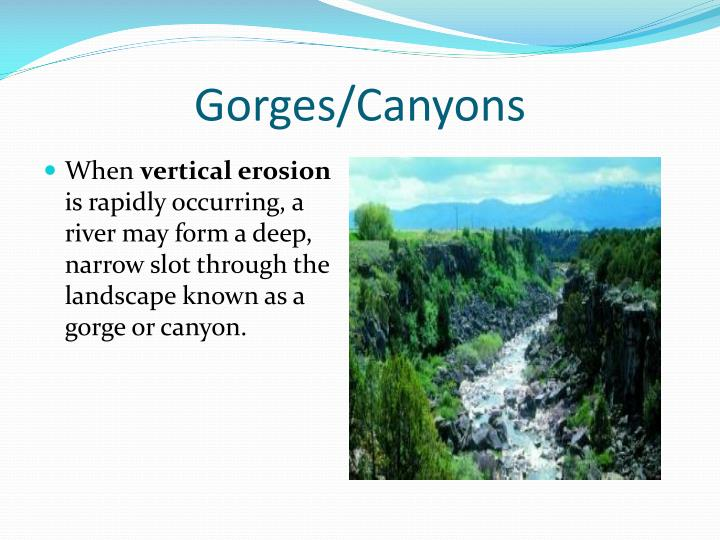 Gorges/Canyons