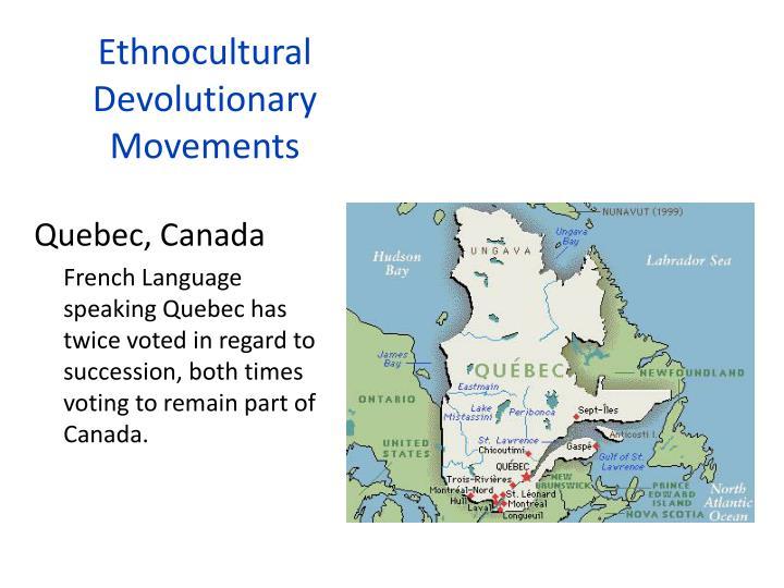 Ethnocultural
