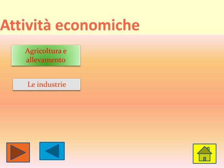 Attività economiche