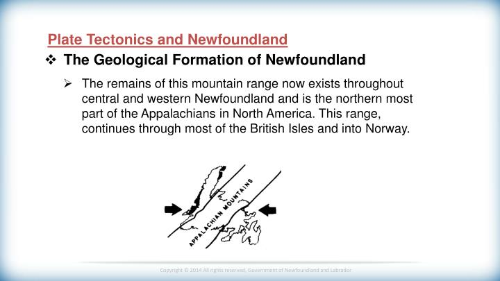 Plate Tectonics and Newfoundland