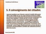 5 il coinvolgimento dei cittadini