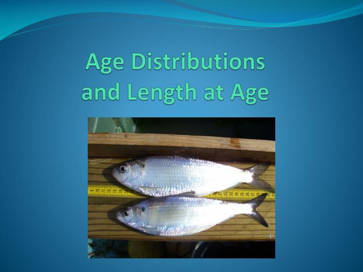 Age Distributions