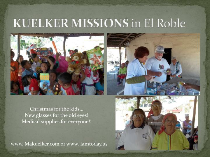KUELKER MISSIONS