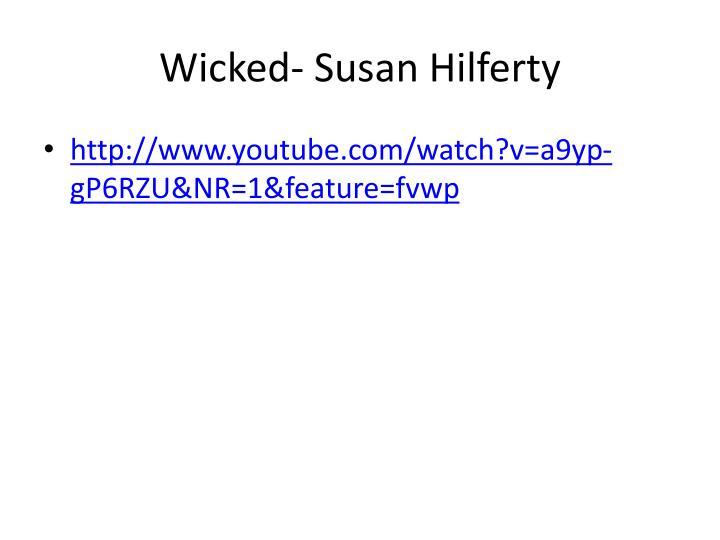 Wicked- Susan Hilferty