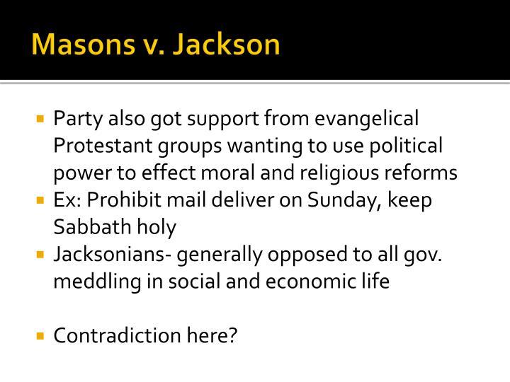 Masons v. Jackson