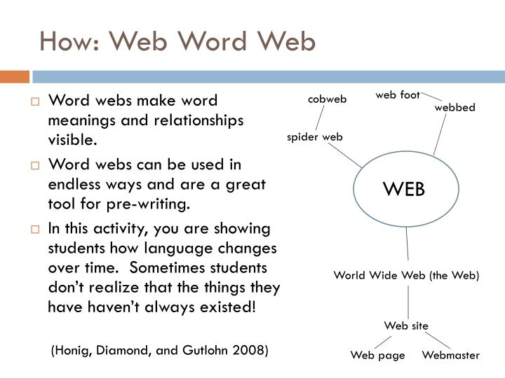 How: Web Word Web