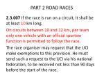 part 2 road races3