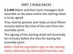 part 2 road races6