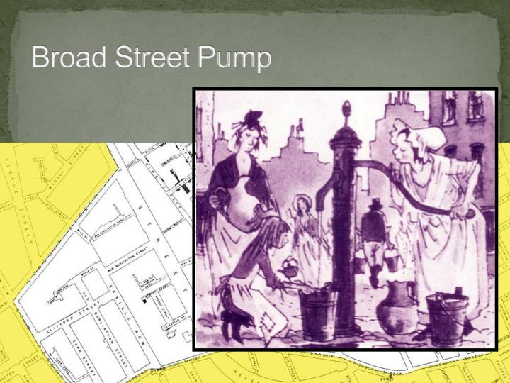 Broad Street Pump