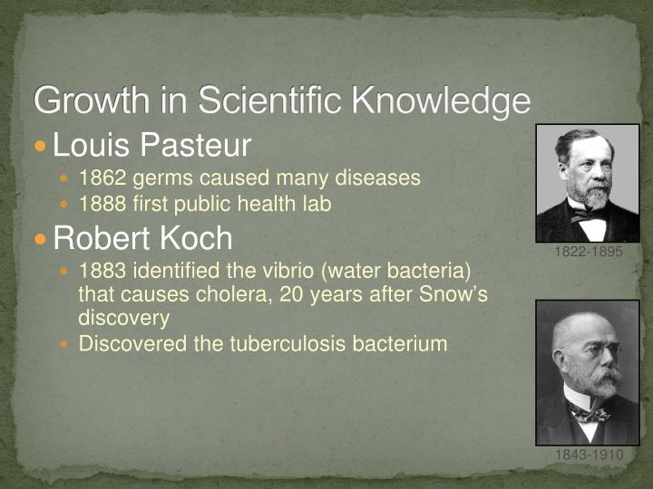 Growth in Scientific Knowledge