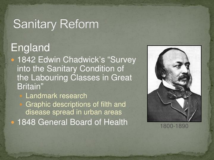 Sanitary Reform