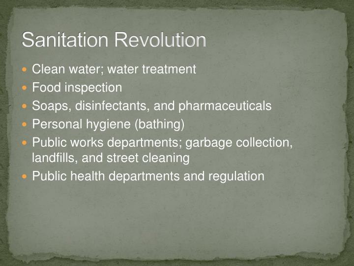 Sanitation Revolution