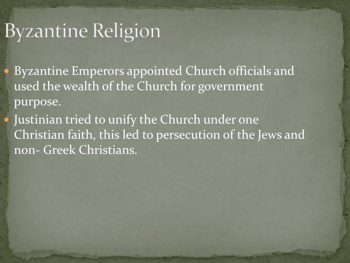 Byzantine Religion