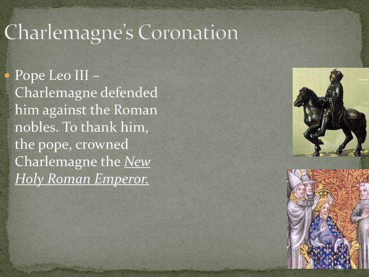 Charlemagne's Coronation