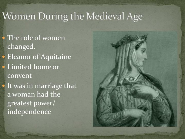 Women During the Medieval Age