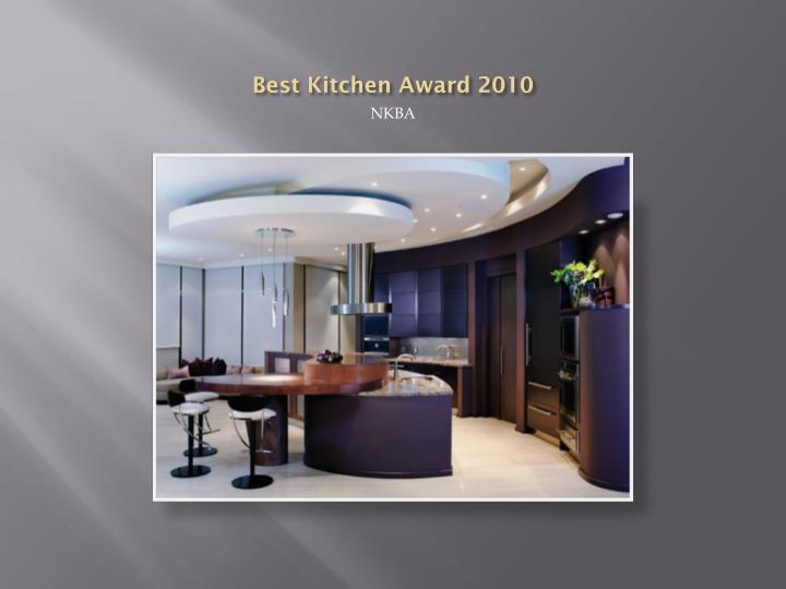 Best Kitchen Award 2010