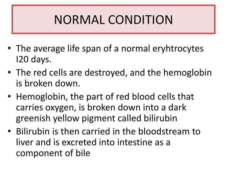 NORMAL CONDITION