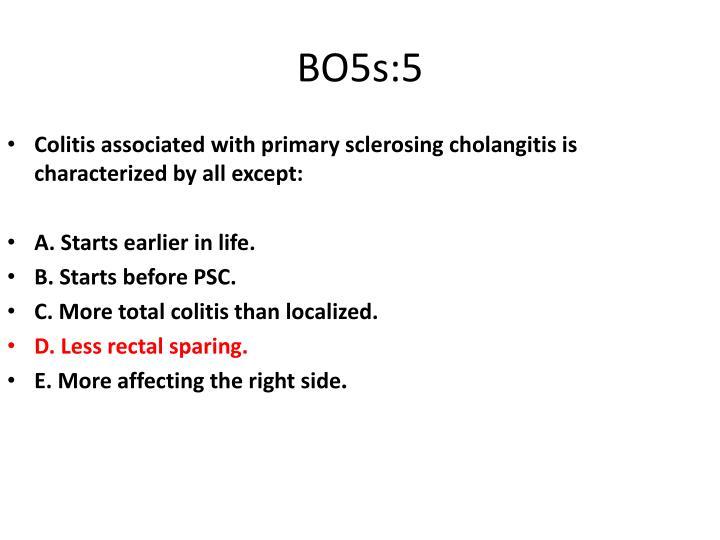 BO5s:5