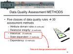 data quality assessment methods