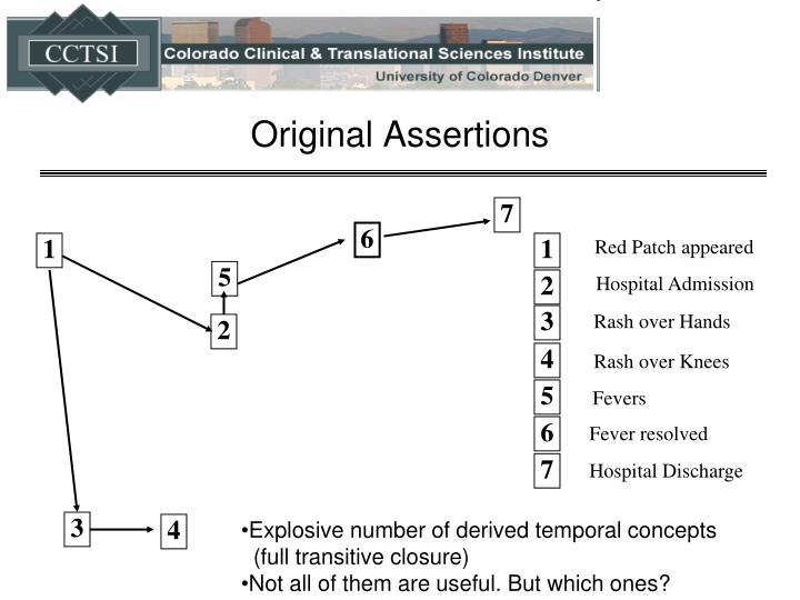 Original Assertions