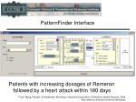 patternfinder interface